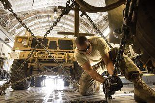 Soldier Working